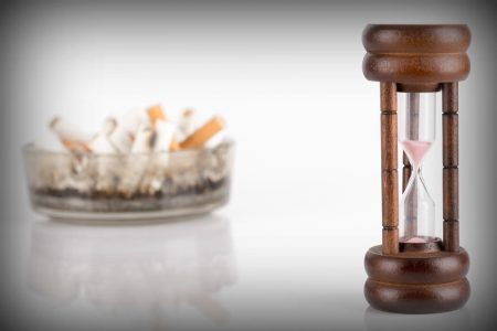 ashtray and timer