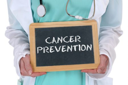 cancer prevention chalkboard